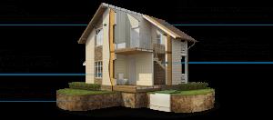 Каркасный дом из сэндвич или sip панелей - строительство