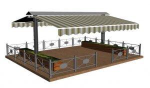 Аренда террас для ресторанов, баров, кафе
